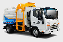 Side Loading Garbage Compaction Truck