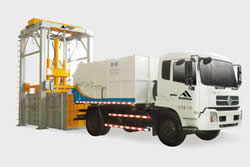 Vertical Compactor Trash Transfer Station
